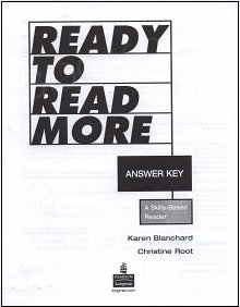 Ready To Read More Answer key