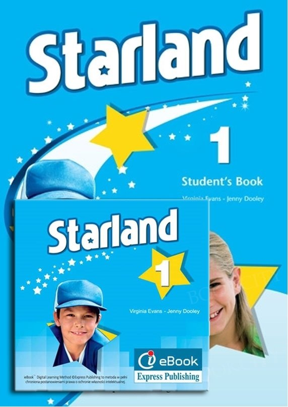 Starland 1 Student's Pack (Student's Book niewieloletni w wersji angielskiej + interactive eBook)