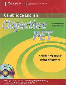 Objective PET 2nd edition Student's Book with answers with CD-ROM