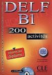 DELF B1 - 200 activites livre livre + CD gratis