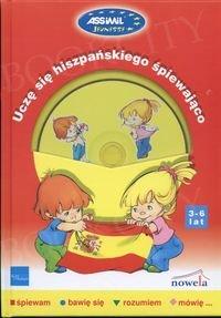 Uczę się hiszpańskiego śpiewająco (3-6 lat) Książka + CD audio