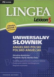 Lingea Lexicon 5 Uniwersalny Słownik angielsko polski polsko angielski (Płyta CD)