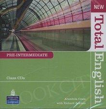 New Total English Pre-Intermediate Class Audio CD