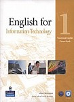 English for Information Technology Level 1 Coursebook plus CD-ROM mp3