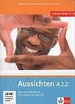 Aussichten A2 Podręcznik + ćwiczenia + CD + DVD A2.2