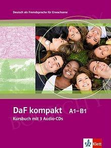 DaF kompakt A1-B1 Kursbuch mit 3 Audio-CDs A1-B1