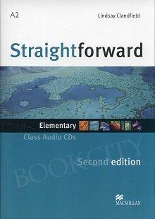 Straightforward 2nd ed. Elementary Class CD
