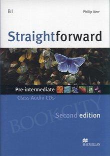 Straightforward 2nd ed. Pre-Intermediate Class CD