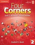 Four Corners Level 2 Student's Book with Self-study CD-ROM and Online WB Pack