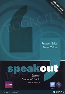 Speakout Starter A1 Student's Book plus Active Book plus MyEnglishLab (z kodem)
