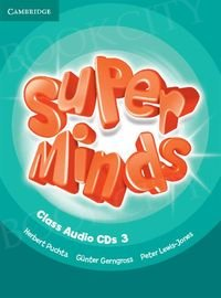 Super Minds 3 Class Audio CDs (3)