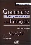 Grammaire Progressive du Français Perfect B2-C2 Klucz