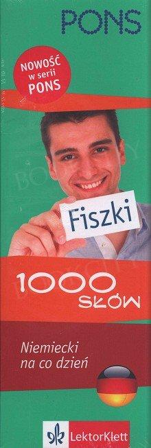 Niemiecki na co dzień. Fiszki 1000 Słów.