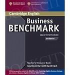 Business Benchmark Upper-intermediate 2nd edition Teacher's Resource Book BULATS and Business
