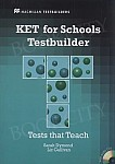 New KET for Schools Testbuilder Książka ucznia + Audio CD Pack