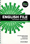 English File Intermediate (3rd Edition) (2013) Teacher's Book & Testing Assessment CD-R