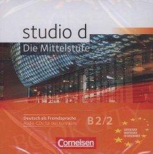 studio d B2 Band 2 Mittelstufe materiały audio do pracy na zajęciach CD