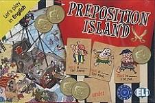 Gra językowa Preposition Island Gra językowa z polską instrukcją i suplementem