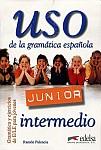 Uso de la gramatica espanola Junior Intermedio alumno