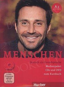 Menschen A2 Medienpaket- (A2/1 i A2/2) CD + 1 DVD zum Kursbuch