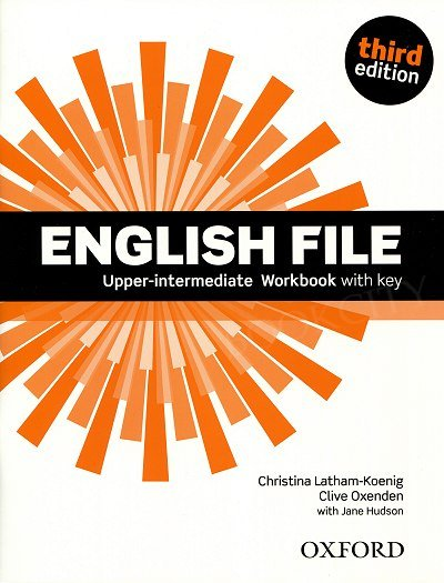 English File Upper Intermediate (3rd Edition) (2014) Workbook with key