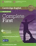 Complete First Certificate 2ed Workbook with Answers +Audio CD