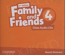 Family and Friends 6 (2nd edition) Class CD(2)