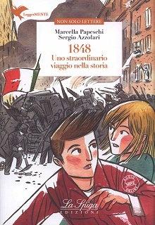 1848 Uno straordinario viaggio nella storia (poziom B2) Książka+audio mp3 online