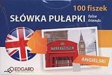 Angielski 100 fiszek. Słówka pułapki Fiszki + mp3 online