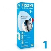Fiszki francuskie. Słownictwo 1 Fiszki + program + mp3 online
