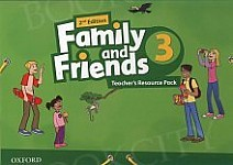 Family and Friends 3 (2nd edition) Teacher's Resource Pack