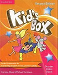Kid's Box Starter (Updated 2nd Ed) Teacher's Resourse Book + Online Audio