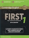 Cambridge English First 1 FCE (2015) Student's Book with Answers