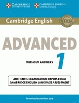 Cambridge English Advanced 1 CAE (2015) Student's Book without Answers