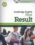 Cambridge English First Result (FCE 2015) Teacher's Book and DVD Pack