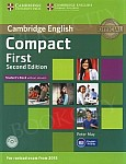 Compact First (2nd edition 2015) Student's Book without answers with CD-ROM
