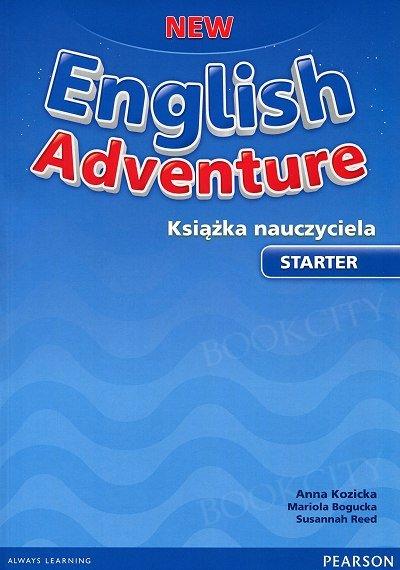 New English Adventure Starter Książka nauczyciela + Teacher's eText code