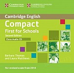 Compact First for Schools (2nd Edition) Class Audio CD