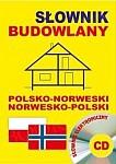 Słownik budowlany polsko-norweski norwesko-polski Książka+CD