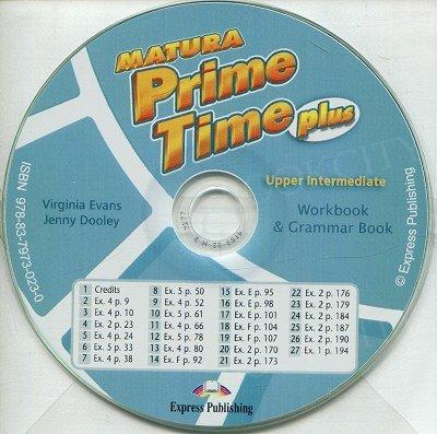 Matura Prime Time Plus Upper-Intermediate Workbook Audio CD