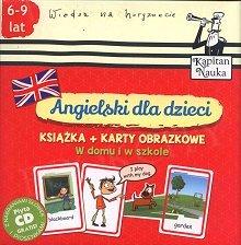Angielski dla dzieci Karty obrazkowe. W domu i w szkole Książeczka + 104 kolorowe karty