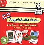 Angielski dla dzieci W domu i w szkole Książka + Karty obrazkowe