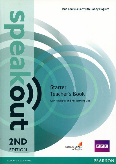 Speakout Starter (2nd edition) Teacher's Book with Resource & Assessment Disc