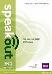 Speakout Pre-Intermediate (2nd edition) Workbook (no key)