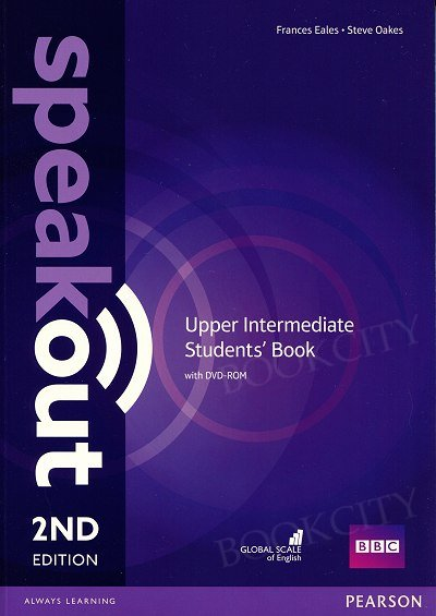Speakout Upper-Intermediate (2nd edition) Student's Book with DVD-ROM (bez kodu)