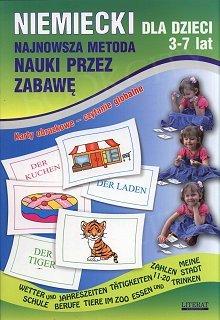 Niemiecki dla dzieci 3-7 lat Najnowsza metoda nauki przez zabawę. Karty obrazkowe...