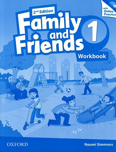 Family and Friends 1 (2nd edition) Workbook & Online Practice Pack
