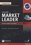 Market Leader 3rd Edition EXTRA Intermediate Coursebook with DVD-ROM Pin Pack