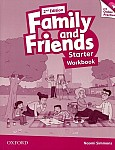 Family and Friends Starter (2nd edition) Workbook & Online Practice Pack