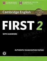 Cambridge English First 2 FCE (2016) Self Study Pack (Student's Book with answers and Audio)